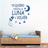 Infantiles / Pequeñines / Te quiero hasta la luna y volver