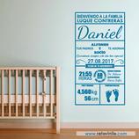 Infantiles Nacimiento - Bienvenido a la Familia