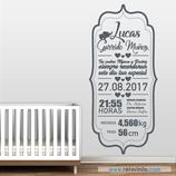 Infantiles Nacimiento - Elefantito con estilo