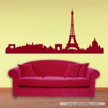 Arquitectura - Silueta Skyline de Paris