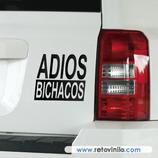 Pegatinas Guapas - 51 - Adios Bichacos