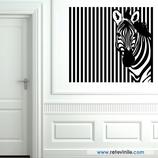Animales - Mirada rallada de cebra