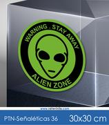 Señaléticas - Alien Zone