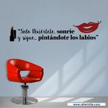 Belleza y Estética - Sonríe y píntate los labios