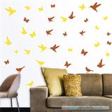 Animales - Pájaros y mariposas