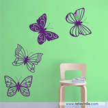 Animales - 4 Mariposas