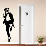 Personajes / Música / Michael Jackson y logo