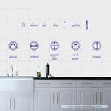 Azulejos - El idioma de los cubiertos