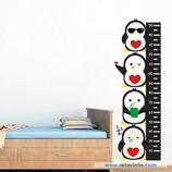 Infantiles / Medidores / Columna de Pingüinos