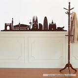 Arquitectura - Silueta Skyline de Barcelona