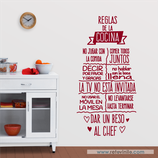 Cocinas - Reglas de la Cocina