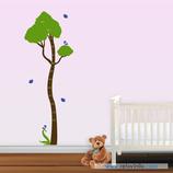 Infantiles / Medidores / Árbol con pajaritos