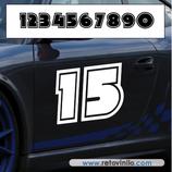 P.N. 18 - Número de 2 cifras - XL