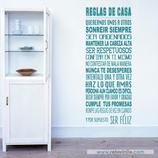 Familiares - Reglas de Casa