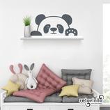 Baldas - Osito panda saludando