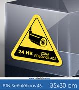 Señaléticas - Zona Videovigilada