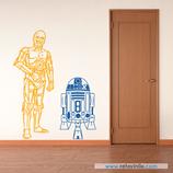 Personajes / Cine / C3PO y R2D2