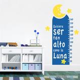 Infantiles / Medidores / Tan alto como la luna