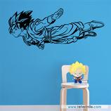 Personajes / Manga / Goku volando