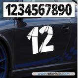 P.N. 10 - Número de 2 cifras - XL