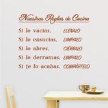 Cocinas - Nuestras Reglas de Cocina