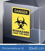 Señaléticas - Danger Biohazard