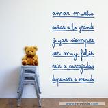 Infantiles / Pequeñines / Mensaje para ser un buen niñ@