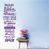 Familiares - Reglas de Familia