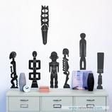 Arte - Esculturas africanas en ébano