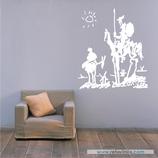 Arte - Quijote y Sancho Panza