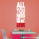 Textos y Frases - All you need is love
