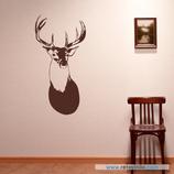 Animales - Cabeza de ciervo