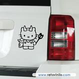 Pegatinas Guapas - 21 - Kitty Demonia