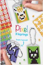 20130 Kit 3 porte-clés animaux