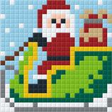1PP2 Père Noël sur traîneau