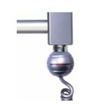 Elektro Heizpatrone mit Schalter, Stecker und Betriebsanzeige 230V