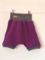 2006 Musselin Shorts aubergine