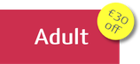 Adult Course Fee with EARLY REGISTRATION DISCOUNT