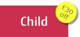 Child Course Fee with EARLY REGISTRATION DISCOUNT