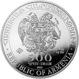 Arche Noah 2021 - Armenien 1 oz Silbermünze .999, Auch halbe und viertel Unzen. Bitte in das Kästchen klicken.