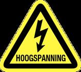 Pictogram Hoogspannings Gevaar