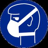 Pictogram Stofmasker Verplicht