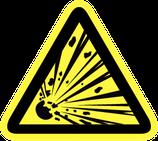 Pictogram Explosieve Stoffen