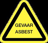 Pictogram Gevaar voor Asbest