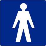 Pictogram Herentoilet
