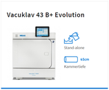 Melag Vacuklav 43 B+ Evolution inkl. 2 Tabletts