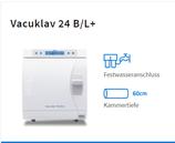 Melag Vacuklav 24 B/L+ inkl. 2 Tabletts