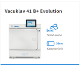 Melag Vacuklav 41 B+ Evolution inkl. 2 Tabletts