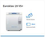 """Melag Euroklav 29 VS+ Klasse S"""" mit Vor-Vakuum und Vakuum - Trocknung inkl. 2 Tablett"""
