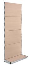 Anbauregal Helle Eichenoptik mit Podest H2500